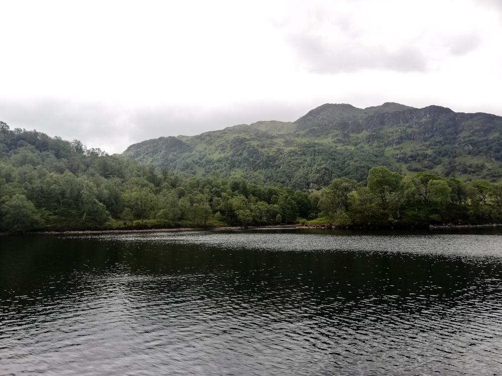 Naviguer sur le Loch Katrine
