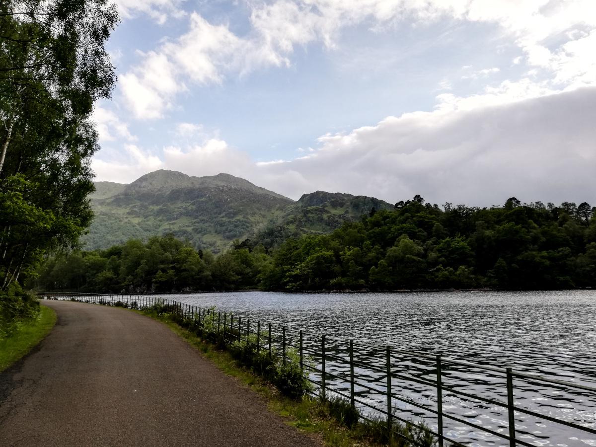 Marcher autour du Loch Katrine