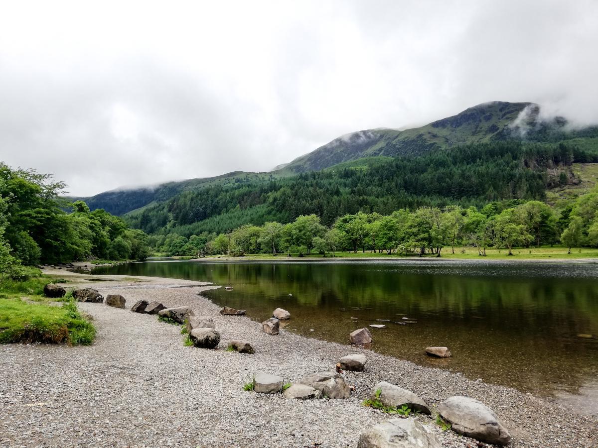 Balade le long du Loch Lubnaig