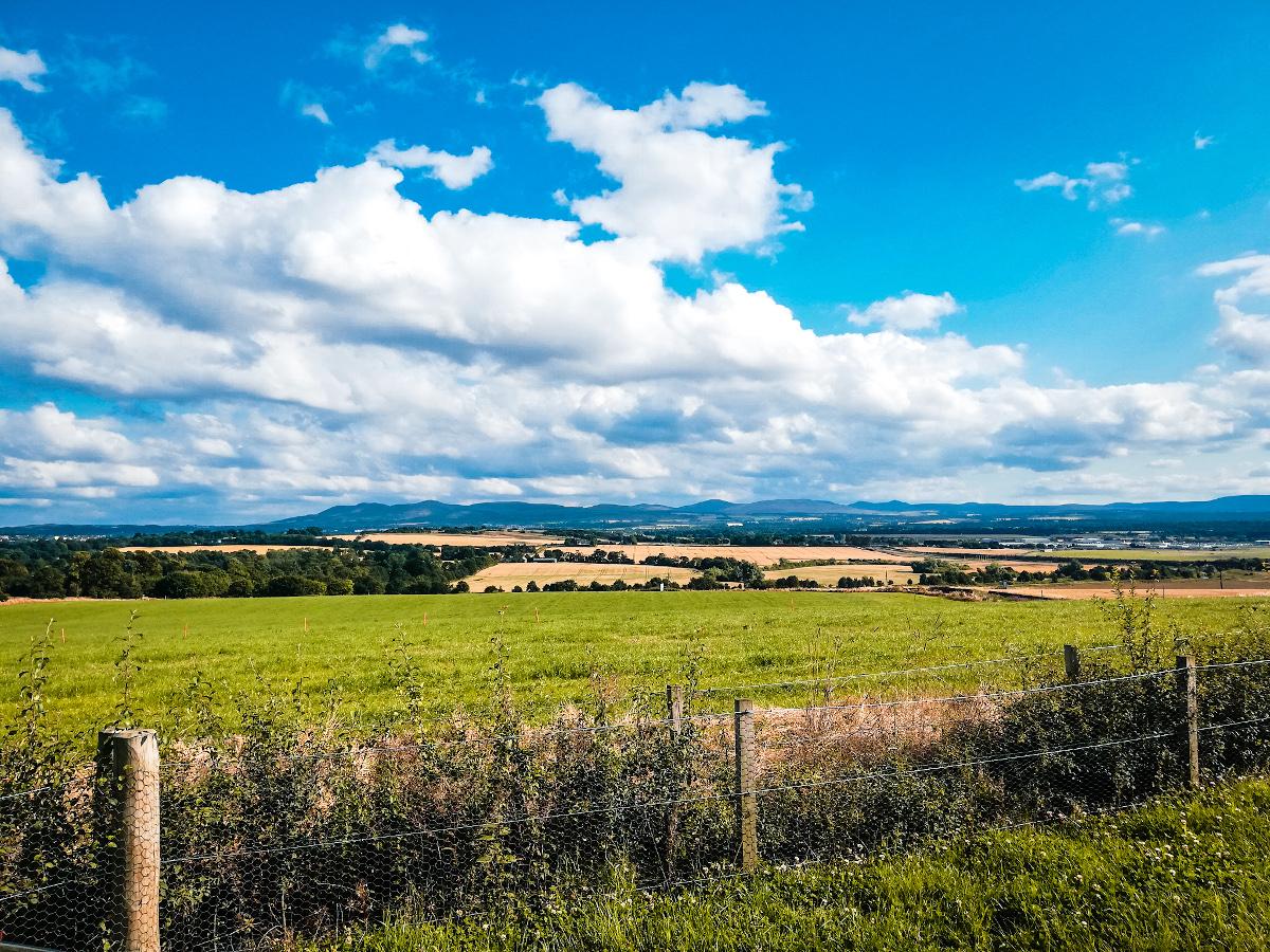 La vue sur les Pentland Hills