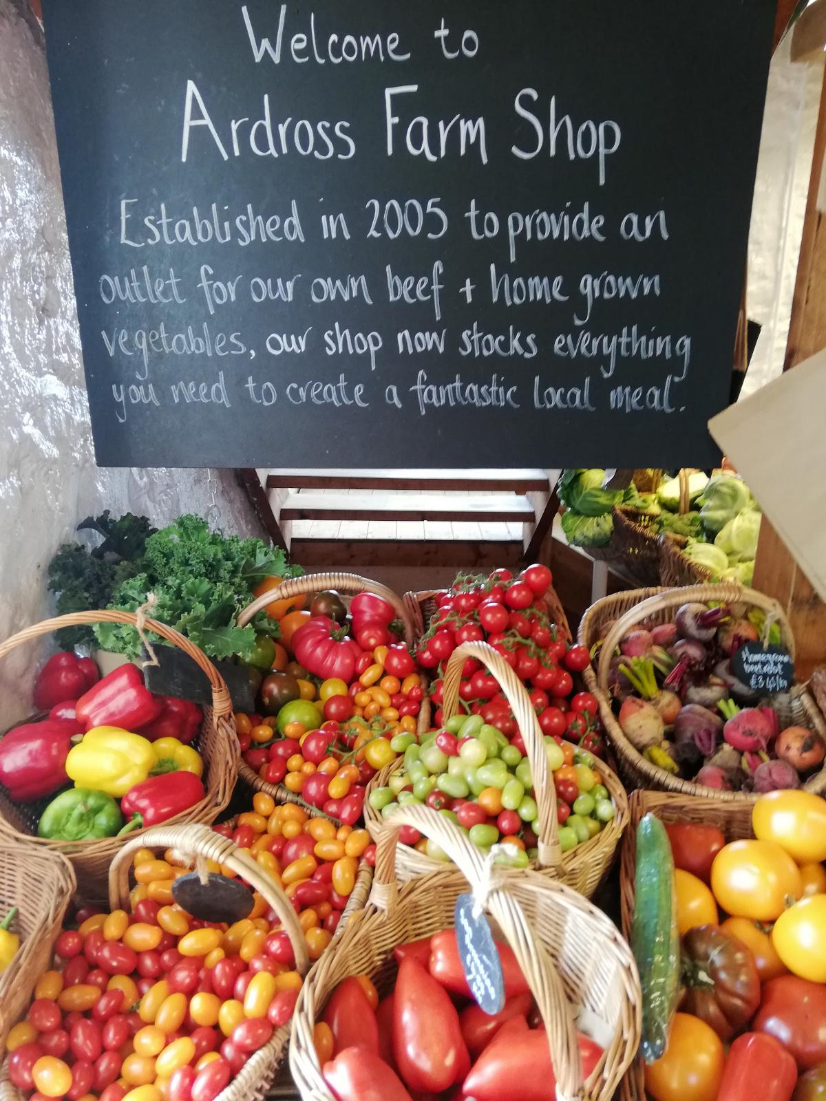 Ardross Farm Shop, Fife